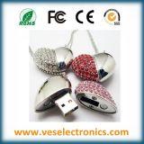 팔찌 보석 심혼 디자인 결혼 선물 USB 섬광 드라이브