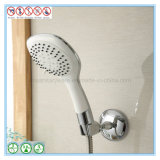 Sostenedor cromado hardware sanitario de la ducha del baño del cuarto de baño con la taza de la succión