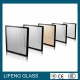 Vidro de vidro isolado da vitrificação dobro para o Baixo-e vidro da parede de cortina