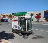 Leistungsfähige Straßen-Kehrmaschine-Maschine mit Selbstentladungssystem
