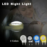 Lâmpada esperta do bebê do mini sensor da luz da noite do diodo emissor de luz auto