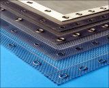 Surtidores del acoplamiento del filtro del cojín del separador de partículas para el gas o el líquido