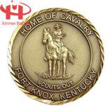 Lucido e Matt Silver Plating Souvenir Coin