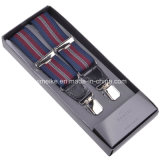 Moda Mens Striped Designs Suspenders 120 * 3.5cm