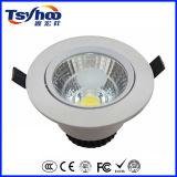 低価格アルミニウムLEDの穂軸によって引込められる天井LED Downlight