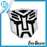 Emblème de chrome des transformateurs 3D d'Autobot/emblème chrome de qualité