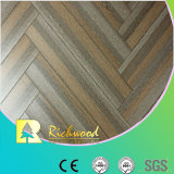 Commercial 12.3mm AC4 Crystal Hickory Sound Absorving Stratifié