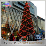 [أبتيكل فيبر] عملاقة [لد] عيد ميلاد المسيح زخرفة شجرة خارجيّة عطلة ضوء