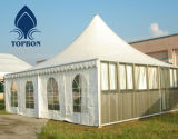 Tela incatramata della tenda del PVC di alta qualità