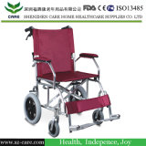 Factory Dirtectly Sale Transit Foldable Manual Steel Wheelchair