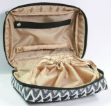 Saco cosmético da composição da jóia prática