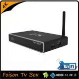 Bester Aufsteigen-Media Player-Mikroprogrammaufstellung OEM/ODM androider intelligenter Fernsehapparat-Kasten