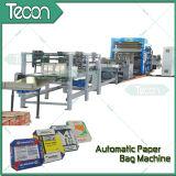 Équipement industriel complètement automatique de sacs en papier de ciment