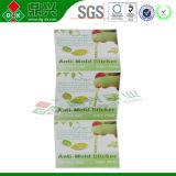 Factoty Preis 5*5cm Anti-Formen Aufkleber/Chip für Fußbekleidung, Beutel, Nahrungsmittelmehltau-Beweis