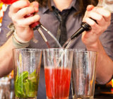 [ستينلسّ ستيل] شراب كحول [بوورر] [وين بوتّل] موقف