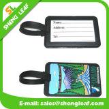 顧客用ロゴPVCゴム製荷物の札(SLF-LT024)