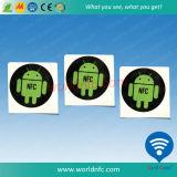 À haute fréquence tag RFID à affichage programmable de 13.56 mégahertz bon marché