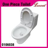 Carte de travail bon marché d'une seule pièce de lavage à grande eau de bouton de dessus de salle de toilette de poterie des prix