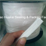 Alta valvola Sealing Braided Packing di Tenacity Nature White Color PTFE Teflon