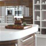 Hohes Gloss Modular Kitchen Cabinets für Home Möbel (Customized)