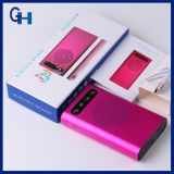 2016 banco de la energía 5200mAh, altavoz Bluetooth banco portable