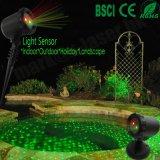 Lumière laser extérieure de Noël de bonheur de douche de laser d'étoile de nuit de la Chine