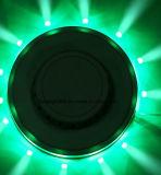 UFO de la lámpara de la lámpara de la etapa de la pequeña lámpara de la flor del UFO Sun del LED mini