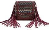 Saco de ombro transversal do saco para o transporte de cadáveres dos Tassels étnicos de cristal novos do estilo