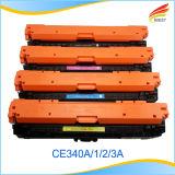 Cavalo-força compatível Ce340A, Ce341A, Ce342A, cartucho de tonalizador da cor de Ce343A