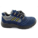 Pieds d'en protectrice 20 de la CE 345 chaussures véritables d'hommes de travail de sûreté de cuir de suède (UF-298)