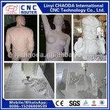 Prix de couteau de commande numérique par ordinateur des grandes 2D sculptures 3D, corps humains