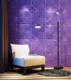 PVC impermeabile 3D Wall Panel di Stronger per Interior Decoration