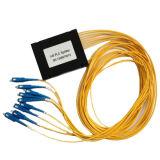 Módulo óptico FTTH del divisor 1*32 del PLC de fibra