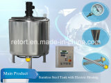 Acciaio inossidabile Reaction Tank Chemical Reactor Heated da Electric (reattore dell'acciaio inossidabile)