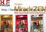 Nieuwe Drievoudige Miraclezen Extrme de Mannelijke Versterker van 1750 Mg