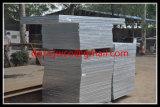 Direktes professionelles kratzendes Fabrik-Stahlmaterial galvanisierte Stahl-Vergitterung