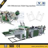 300cuts ad alta velocità Servo Motor Tshirt Shopping Bag Making Machine