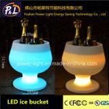 방수 LED 포도주 물통을 바꾸는 바 가구 RGB 색깔