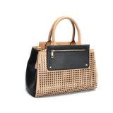 Brown-lederne Dame-lederne Handtaschen