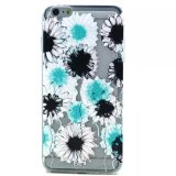 Buntes Flower Relief TPU Fall für iPhone6
