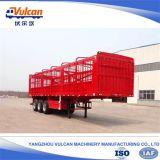 De remorque du constructeur 3 d'essieu de frontière de sécurité de cargaison remorque semi pour le prix bas