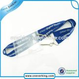 Qualität Customized Blue Lanyard mit School Identifikation Card Holder