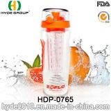 Горячая сбывания бутылка воды вливания плодоовощ нов 1000ml Tritan, подгонянная пластичная бутылка воды (HDP-0765)