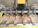 Máquina de trabalho de madeira, router do CNC, cinzelando a máquina