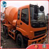 Camion utilisé de mélangeur de colle d'Isuzu avec le système d'interruption de pétrole (8cbm/drum)