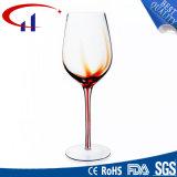 Cálice de vidro por atacado relativo à promoção do vinho (CHG8120)