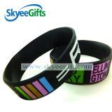 Bracelet promotionnel de Custom Logo Silicone Silicone Band avec le GV