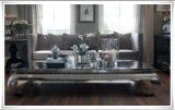 최고 유리를 가진 금속 프레임 도매 탁자 커피용 탁자