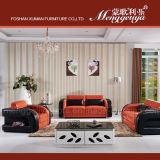 Europeo del cuero del ocio moderno del sofá (906 #)