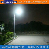 5years Warranty All in One Energy Saving Outdoor/Garden/Road Lamp Integrated 60W Solar Street LED Light
